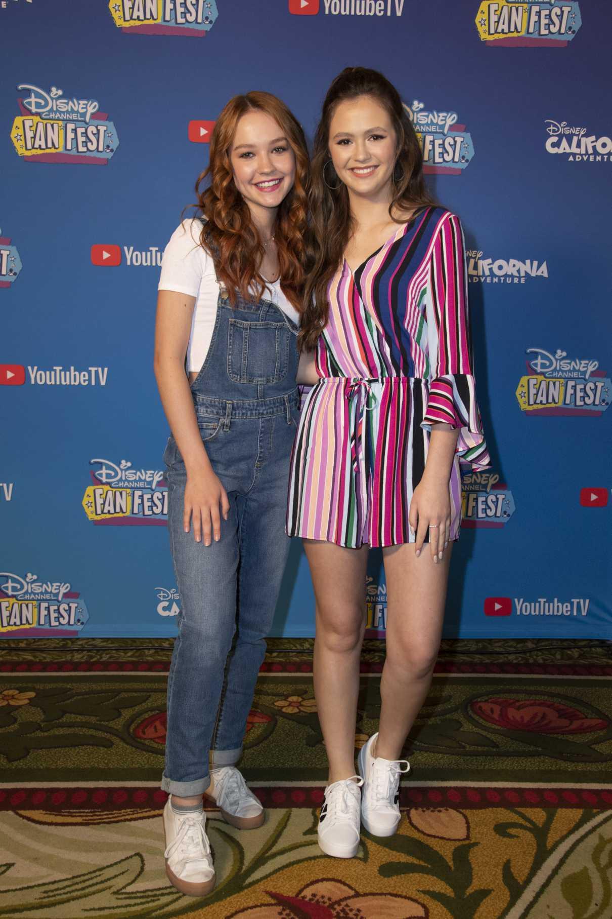 Sadie Stanley Attends 2019 Disney Channel Fan Fest In
