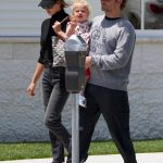Bradley Cooper in a Gray Sweatshirt Was Seen Out with Irina Shayk in Brentwood 05/25/2019