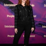 Christina Hendricks Attends People and Entertainment Weekly 2019 Upfronts in New York City 05/13/2019