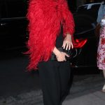 Olivia Wilde in a Black Pants