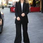Olivia Wilde in a Black Suit