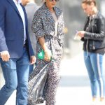 Victoria Beckham in a Floral Dress Was Seen Out in NYC 05/08/2019