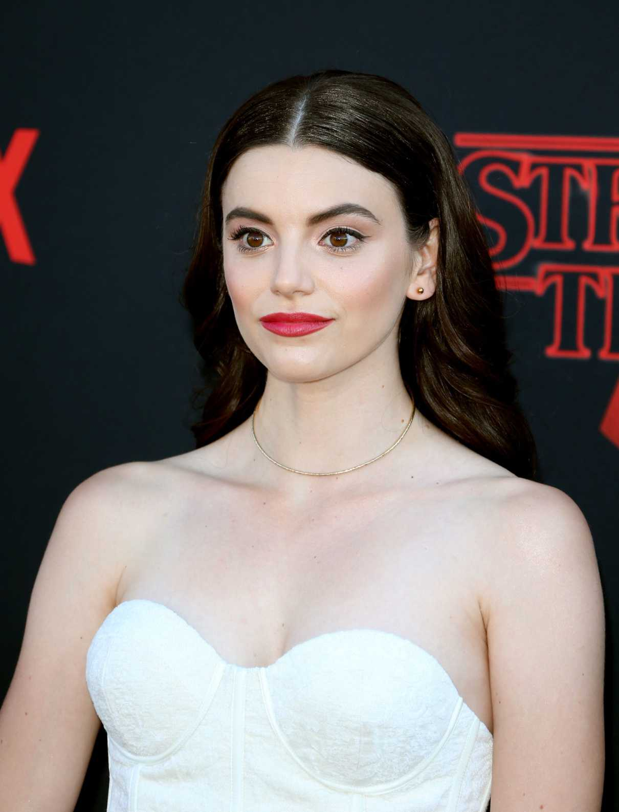 Francesca Reale attends Netflixs Stranger Things Season