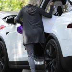 Julianne Hough in a Gray Pants