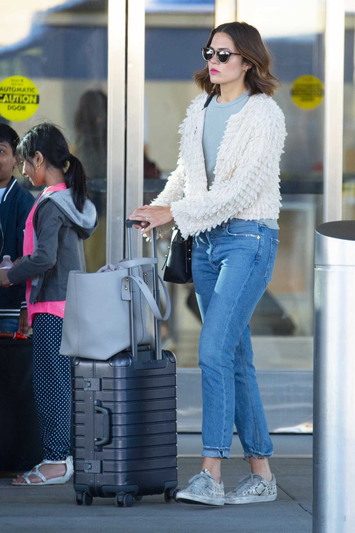 Mandy Moore in a Blue Jeans