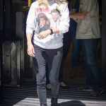 Carrie Underwood in a Black Jeans Arrives at BBC Radio 2 Studios in London 07/04/2019