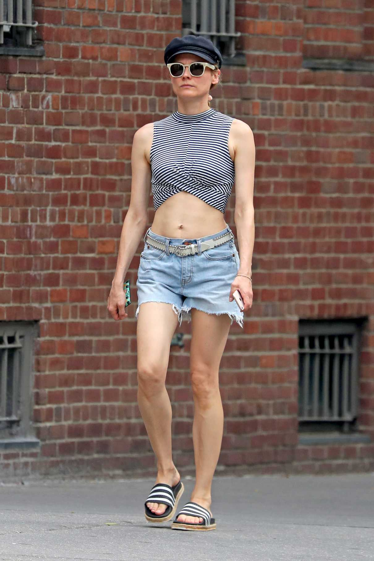 Diane Kruger in a Striped Top