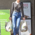 Emma Roberts in a Blue Jeans