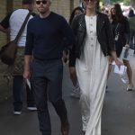 Gemma Arterton in a White Dress