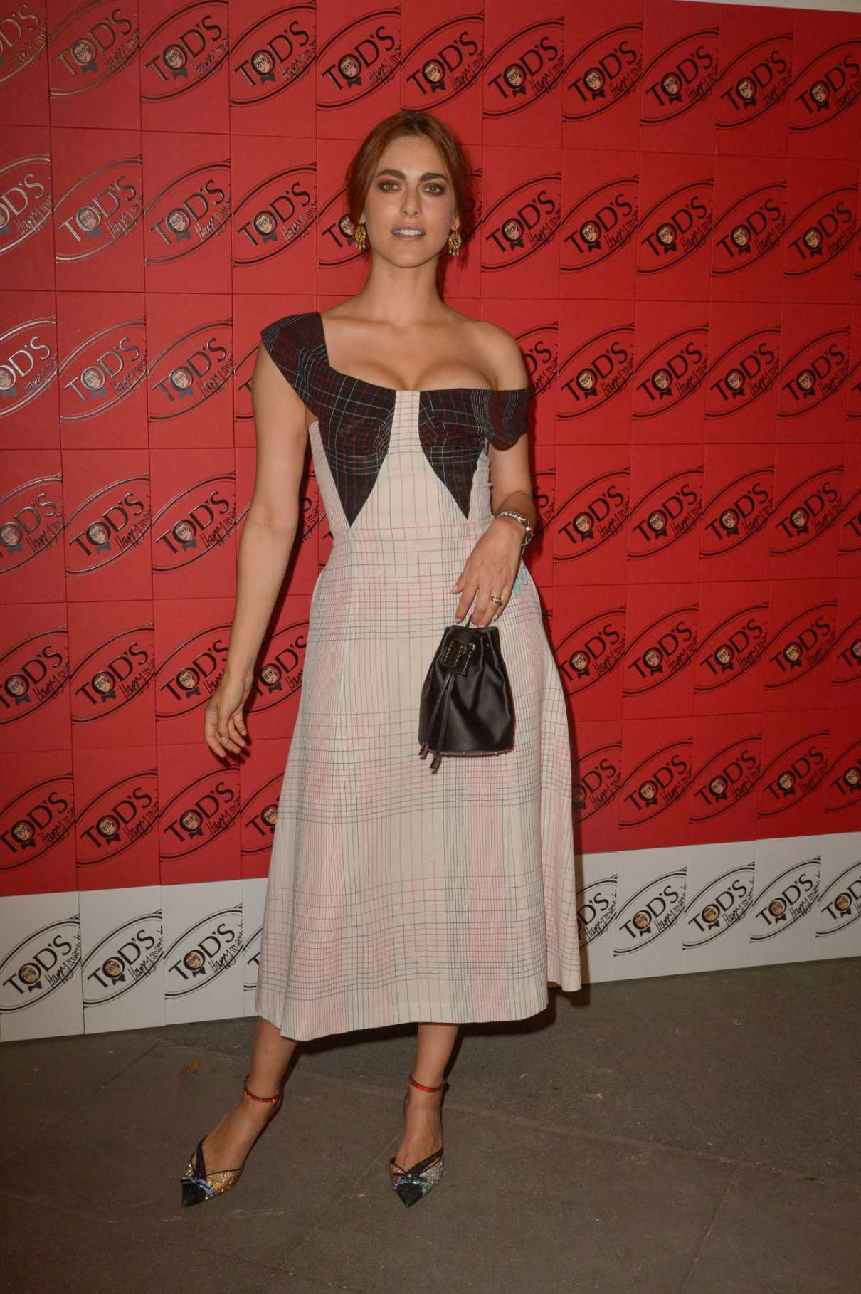 Miriam Leone Attends Tod's x Alber Elbaz Happy Moments Party in Paris 07/02/ 2019 – LACELEBS.CO