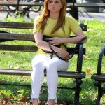 Ariel Winter in a Yellow Tee
