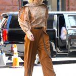 Cate Blanchett Leaves AOL Build Studio in New York City 08/12/2019