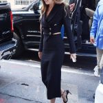 Dakota Johnson in a Black Suit