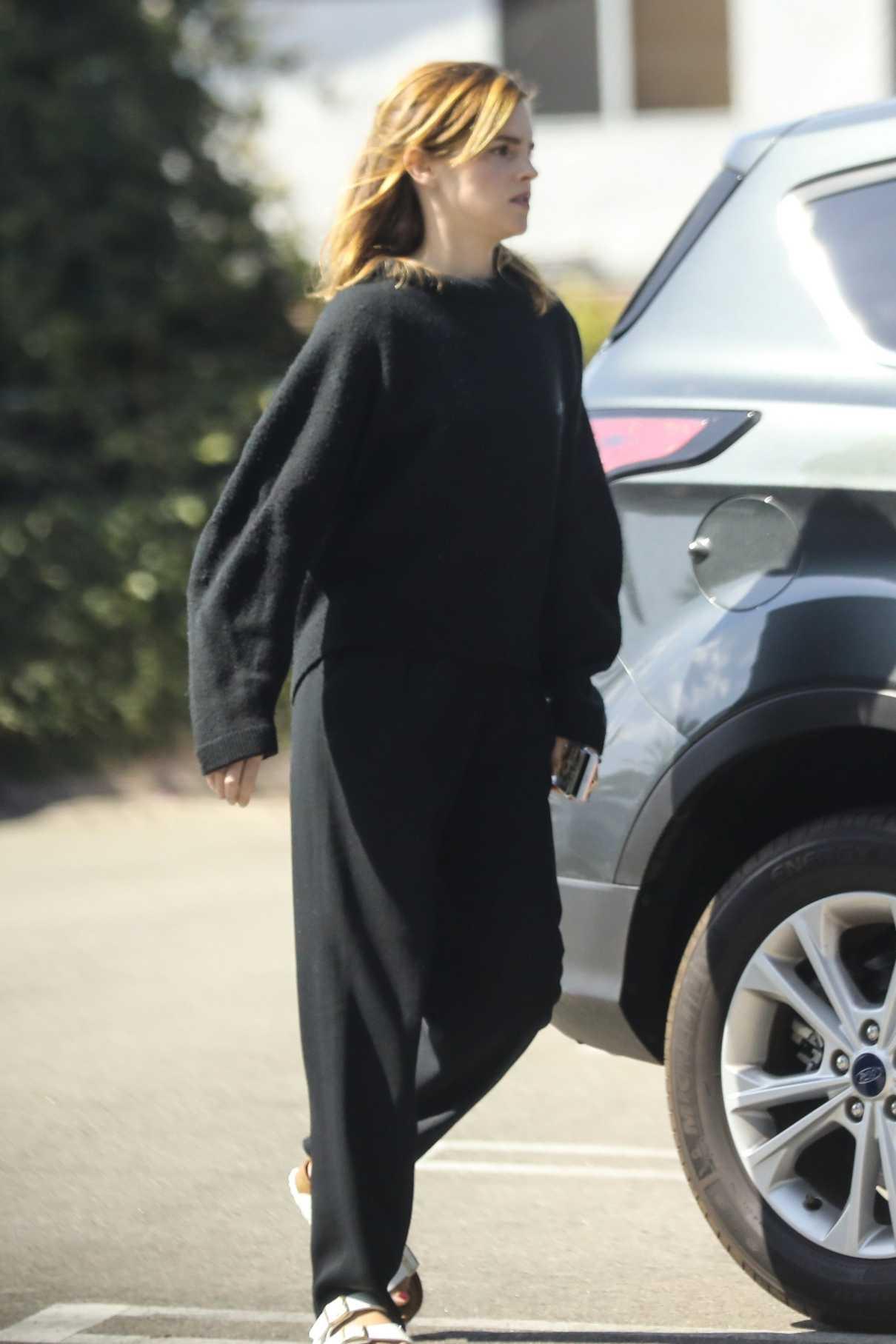 Emma Watson in a Black Sweater