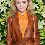 Kathryn Newton Attends 2019 WSJ. Magazine Talents and Legends Dinner Honoring Lucas Hedges in Beverly Hills 08/28/2019