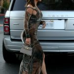 Kim Kardashian in a Form Fitting Dress