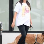 Shay Mitchell in a White Tee