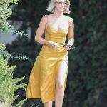 Julianne Hough in a Yellow Dress