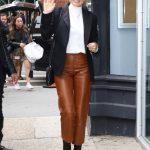 Elizabeth Olsen in a Black Blazer