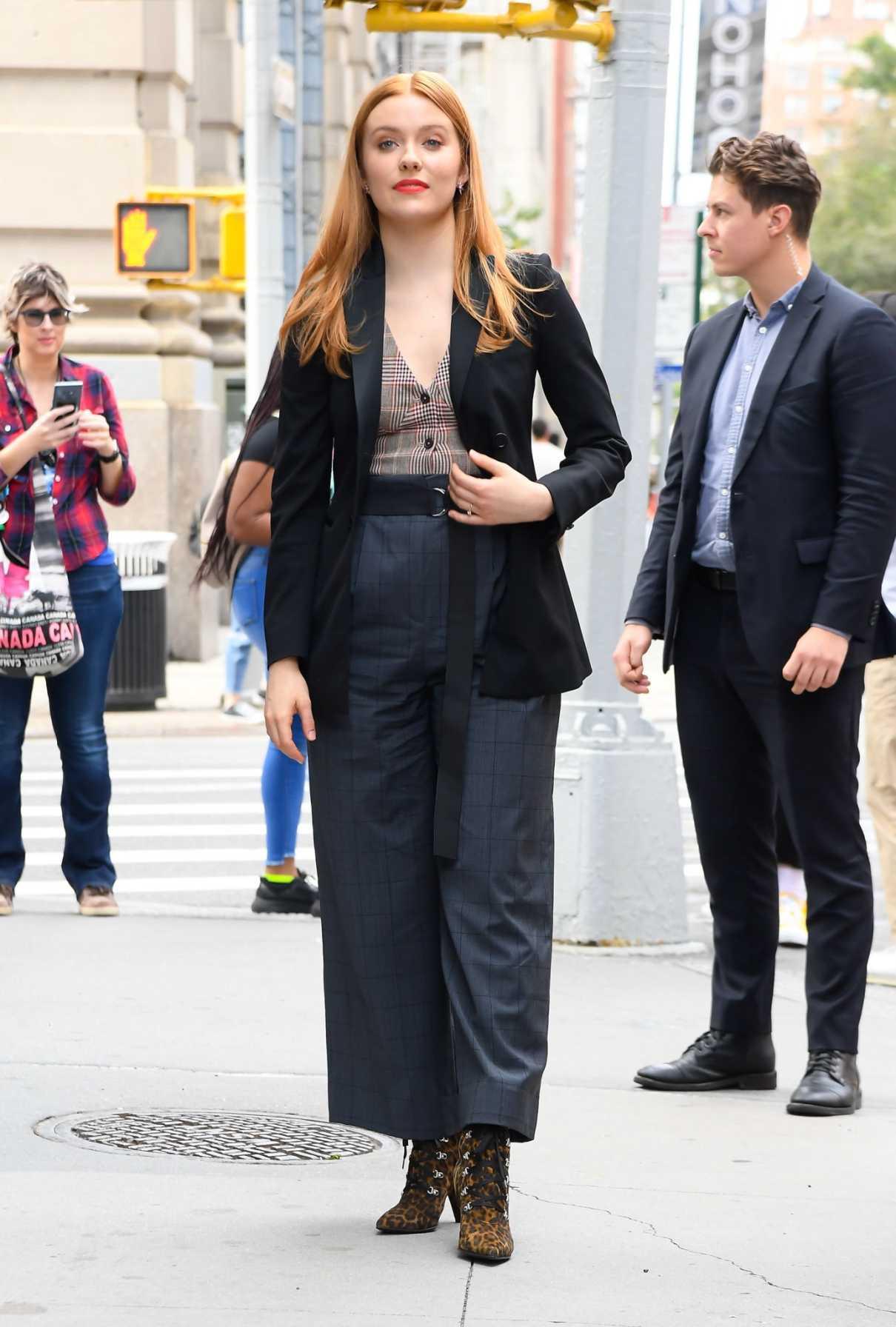 Kennedy Mcmann in a Black Blazer