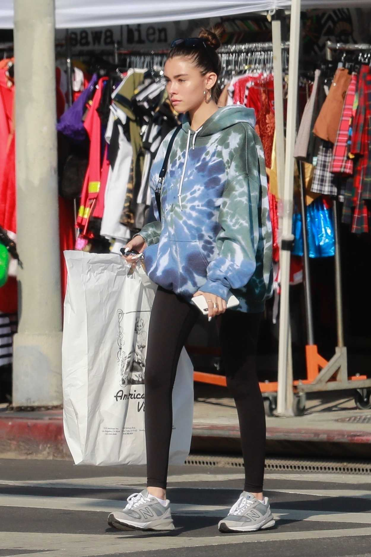 Madison Beer in a New Balance Sneakers