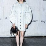 Maisie Williams Attends the Givenchy Fashion Show During 2019 Paris Fashion Week in Paris 09/29/2019