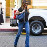 Sofia Vergara in a Black Tee Was Seen Out in Los Angeles 10/10/2019