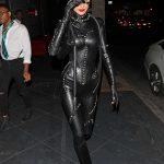 Bella Hadid in a Cat Woman Outfit