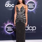Jameela Jamil Attends the 2019 American Music Awards at Microsoft Theater in Los Angeles 11/24/2019