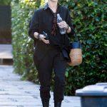 Julianne Hough in a Black Shirt