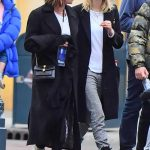 Cara Delevingne in a Blue Knit Hat Was Seen Out with Ashley Benson at Disneyland in Anaheim 12/24/2019