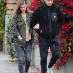 Kate Mara in a Green Jacket