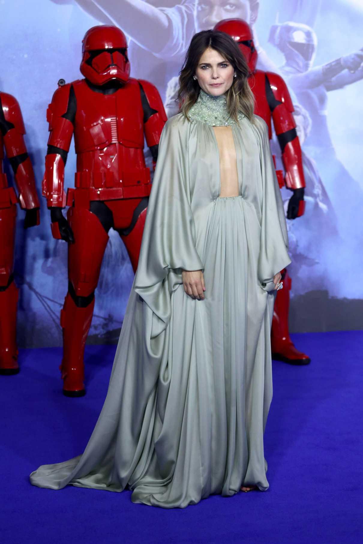 Keri Russell Attends Star Wars The Rise Of Skywalker Premiere In London 12 18 2019 Lacelebs Co