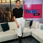 Lily Aldridge Visits the People Now in New York 12/11/2019