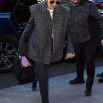 Gigi Hadid in a Black Jeans
