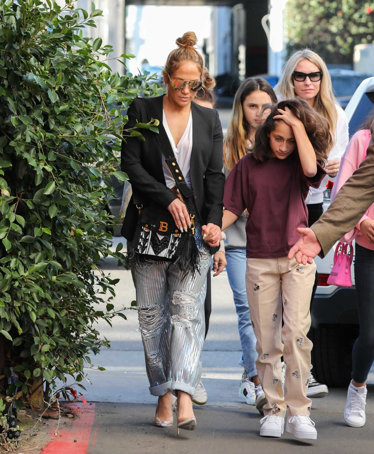 Jennifer Lopez in a Black Blazer