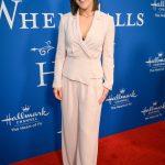Erin Krakow Attends the Hallmark Channel's When Calls The Heart Season 7 Celebration Dinner in LA 02/11/2020