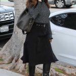 Jennifer Garner in a Black Skirt