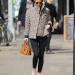 Nicky Hilton in a Black Jeans