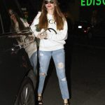 Sofia Vergara in a Blue Ripped Jeans Was Seen Out in Los Angeles 01/29/2020