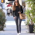 Sofia Vergara in a Gray Leggings Leaves the Gym in Beverly Hills 02/01/2020