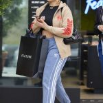 Jordyn Woods in a Beige Sneakers Was Seen Out in Calabasas 03/01/2020