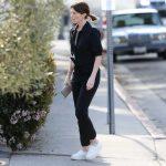 Katherine Schwarzenegger in a Black Shirt