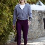 Ali Larter in a White Sneakers Was Seen Out in Pacific Palisades 04/08/2020