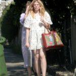 Elle Fanning Was Seen Out with Dakota Fanning in Los Angeles 04/26/2020