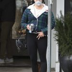 Lana Del Rey in a Plaid Jacket Was Seen Out in Los Angeles 04/10/2020