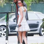 Ana De Armas in a White Dress