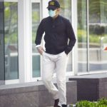 Bradley Cooper in a White Pants Was Seen Out in New York City 05/10/2020