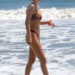 Delilah Hamlin in a Tan Bikini