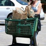 Denise Richards in a White Cap Goes Shopping at Her Local Whole Foods in Malibu 05/19/2020